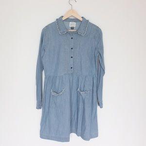 Joanie denim shirt dress US 8